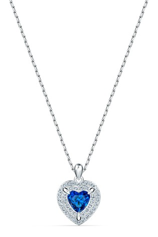 Swarovski Silver Rhodium Heart Pendant