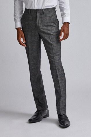 Burton Tailored Pow Check Trousers