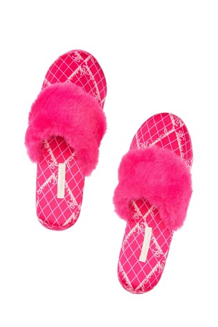 Victoria's Secret Signature Satin Slipper