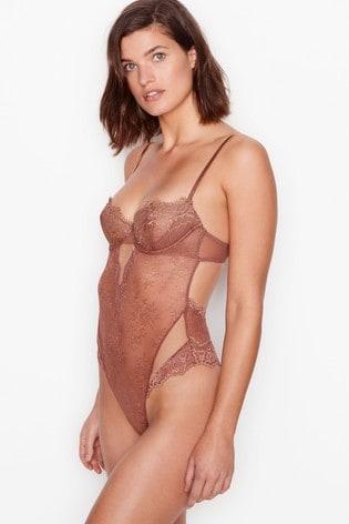 Victoria's Secret Wicked Unlined Balconette Teddy