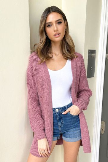Lipsy Rose Cable Cardigan