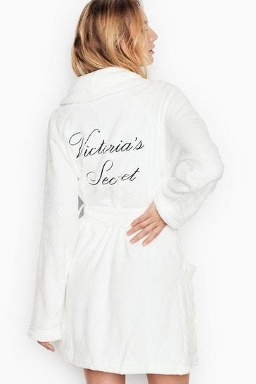 Victoria's Secret Logo Short Cozy Robe