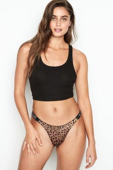 Victoria's Secret Rhinestone Shine Strap Panty