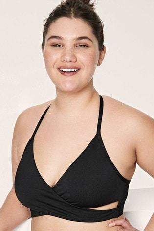 Victoria's Secret PINK Gym to Swim Bodywrap Top