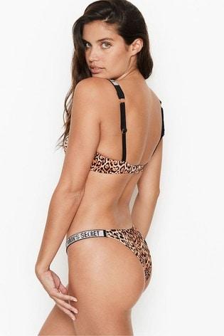 Victoria's Secret Shine Strap Escondido Brazilian Bottom