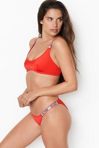 Victoria's Secret Shine Strap Barbados Bikini Bottom