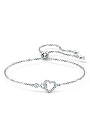 Swarovski Silver Infinity Bracelet