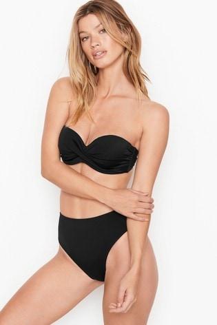 Victoria's Secret Mallorca Twist-Front Bandeau Top
