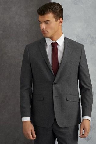 Skopes Grey Harcourt Textured Weave Blazer