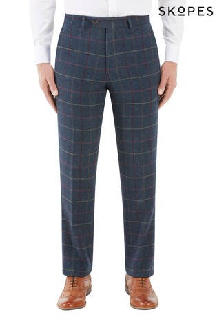 Skopes Red Tailored Fit Trouser
