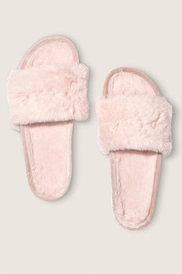 Victoria's Secret PINK Faux Fur Slide