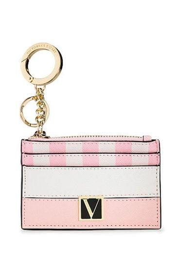 Victoria's Secret The Victoria Card Case Keychain