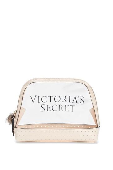 Victoria's Secret Laser Cut Logo Beauty Bag