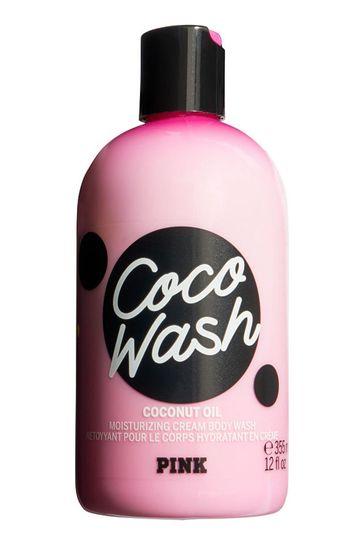 Victoria's Secret PINK Coco Moisturizing Cream Body Wash with Coconut Oil