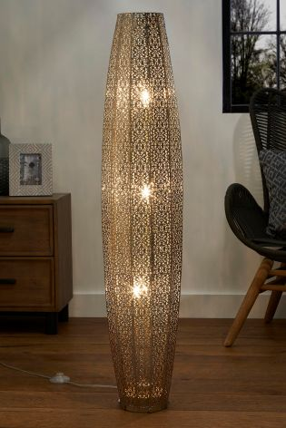 Buy Large Oriana 3 Light Floor Lamp From The Next Uk