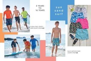 Boys Swim Shop
