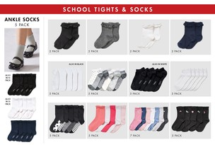 School Socks & Tights