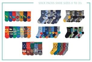 Socks, Underwear & Acessories