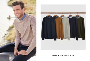 Mock Collar Jumpers