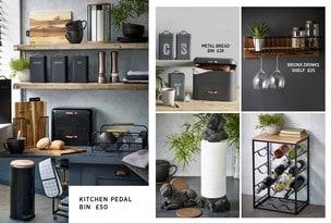 Kitchen, Storage & Bins