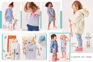 Younger Girls 3mths–7yrs