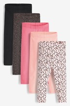 5 Pack Leggings (3mths-8yrs)