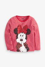 Minnie Mouse™ Flippy Sequin Top (3-16yrs)