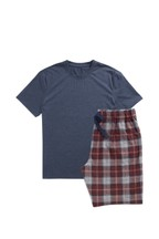 Check Cosy Short Pyjama Set
