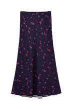 Joules Blue Coletta Bias Cut Skirt