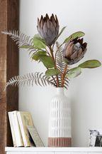 Artificial Protea in Vase