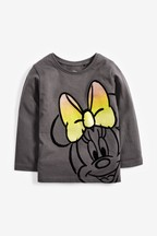 Fluro Minnie Mouse™ Licence Long Sleeve T-Shirt (3mths-7yrs)