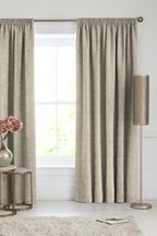 Chenille Natural Made To Measure Curtains