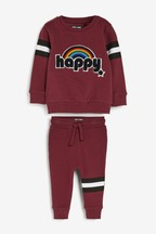 Happy Bouclé Top And Joggers Set (3mths-7yrs)