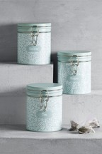 Set of 3 Hadley Floral Storage Tins