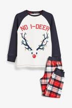 Kids Matching Family Reindeer Pyjamas (3-16yrs)