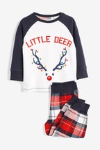 Kids Matching Family Reindeer Pyjamas (9mths-8yrs)