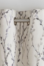 Delicate Willow Print Curtains