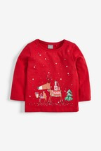 Christmas Reindeer T-Shirt (3mths-7yrs)