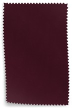 Opulent Velvet Claret Fabric Sample