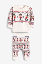 Character Knit Jumper And Leggings Set (0mths-2yrs)