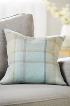 Marlow Woven Check Cushion
