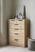 Bronx Light 6 Drawer Chest
