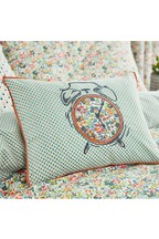 Helena Springfield Dottie Floral Embellished Clock And Geo Cushion