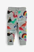 Rainbow All Over Print Dino Joggers (3mths-7yrs)