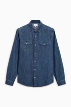 Denim Western Regular Fit Shirt