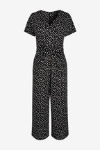 Textured Jersey Jumpsuit