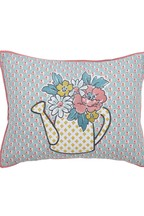 Helena Springfield Mary Jane Vintage Floral Embellished Watering Can Cushion