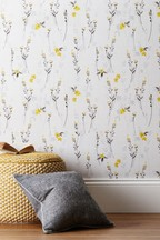 Paste The Wall Eden Floral Wallpaper