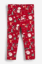 Christmas Print Leggings (3mths-7yrs)