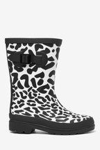 Animal Print Buckle Wellies (Older)